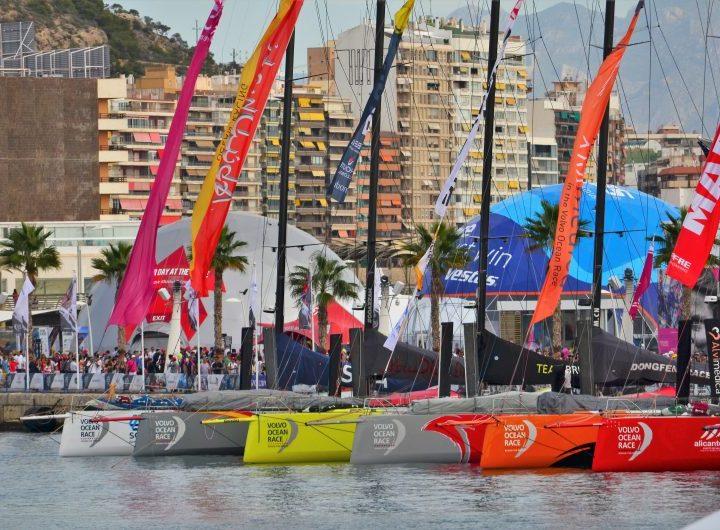 La Volvo Ocean Race sale de Alicante el 22 de octubre: ¡prepárate para el evento náutico del año!