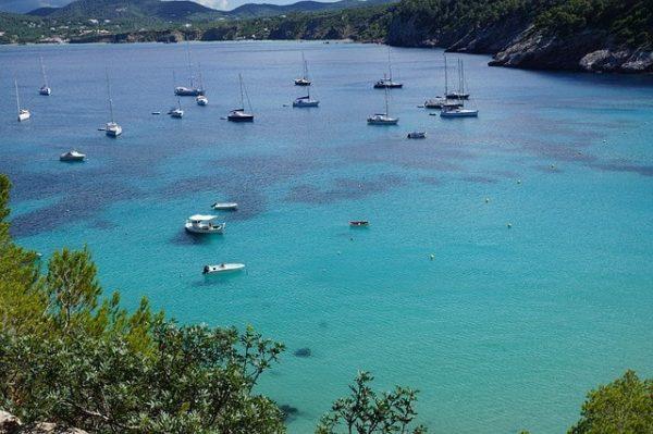 Salidas en barco en Ibiza